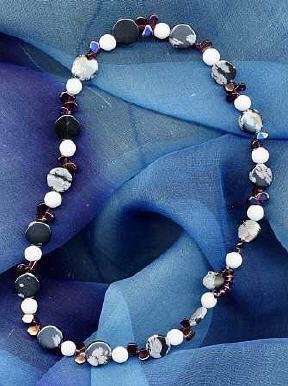 Obsidian, Granat, achat