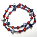Halskette aus Edelsteinen